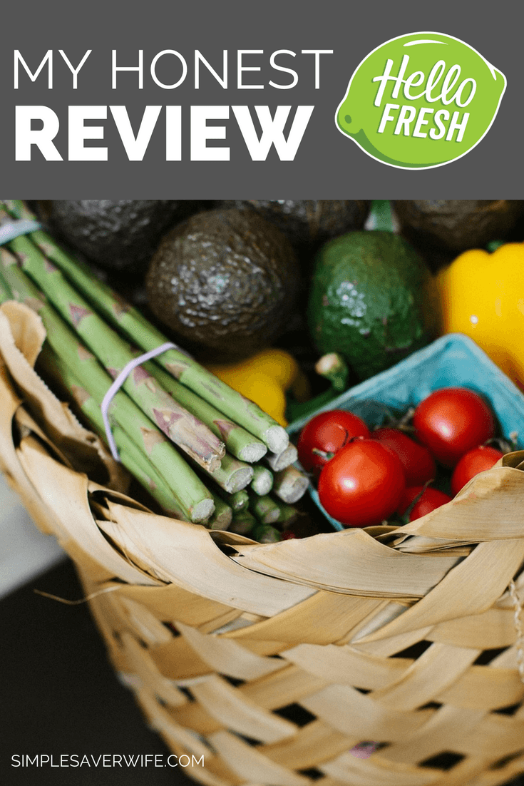 My Honest HelloFresh Review