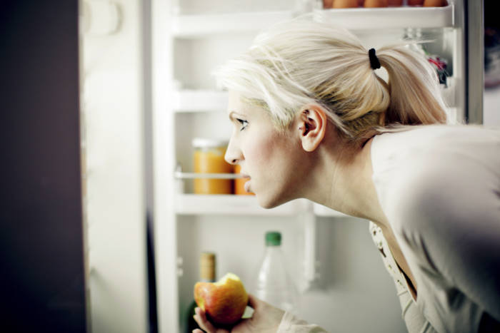 Browsing the fridge