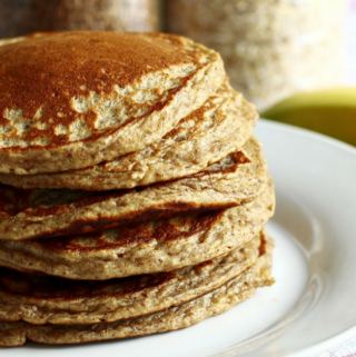 Whole Wheat Buttermilk Pancakes (The Best!)