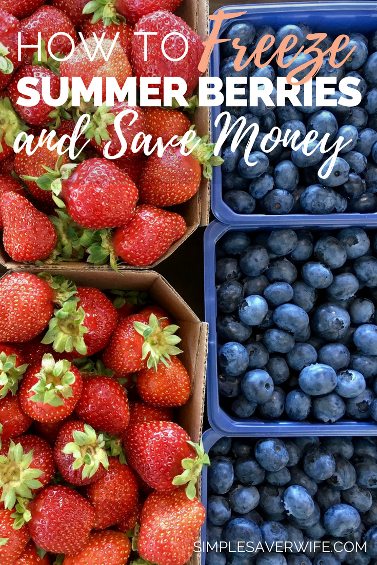 How to Freeze Summer Berries and Save Money