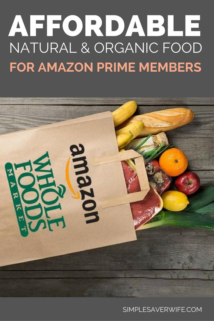 Affordable Natural & Organic Food