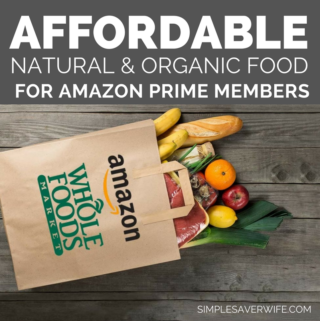 Affordable Natural & Organic Food for Amazon Prime Members