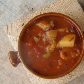 20-Minute Vegetable Beef Soup