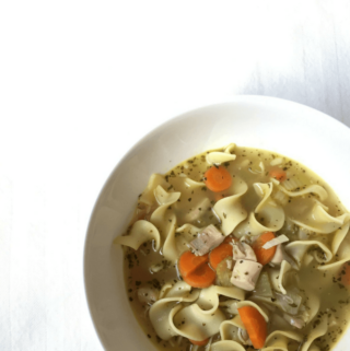 20-Minute Homemade Chicken Noodle Soup