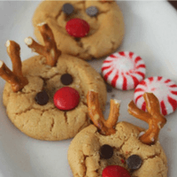 Cookie Exchange: Peanut Butter Rudolph Cookies