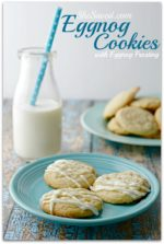 Cookie Exchange: Eggnog Cookies
