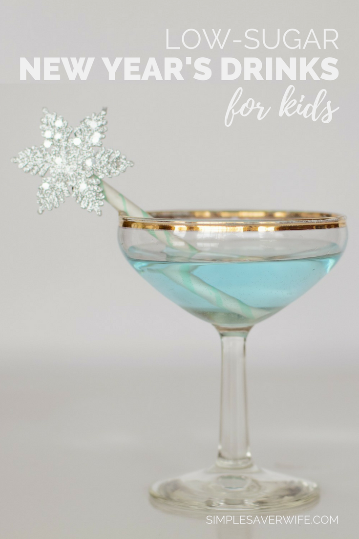 Low-Sugar New Year's Drinks for Kids