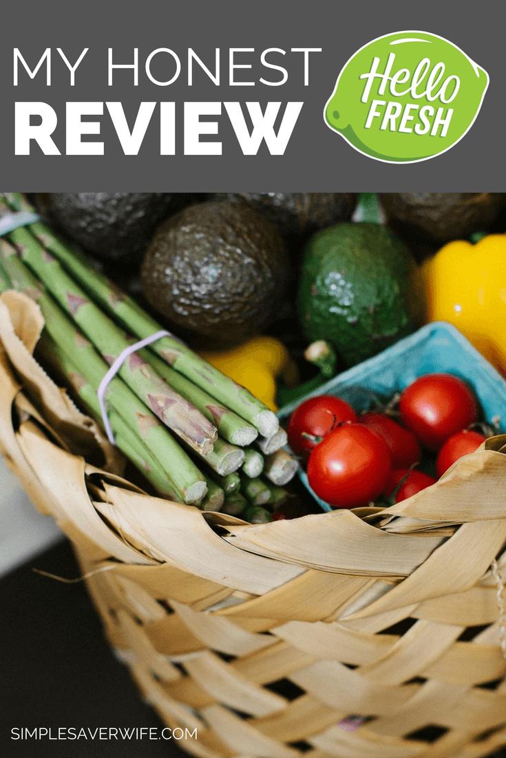 My Honest HelloFresh Review