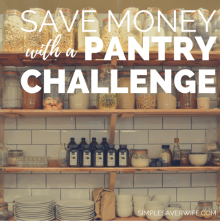 How to Save Money with a Pantry Challenge