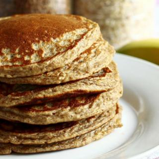 100% whole wheat pancakes that actually taste delicious!