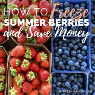 How to Freeze Fresh Summer Berries