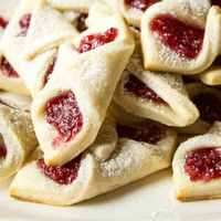 Cookie Exchange: Raspberry Bow Tie Cookies