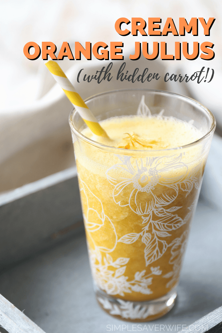 Creamy Orange Julius | how to make orange julius | orange smoothie | healthy orange smoothie | summer smoothie | easy smoothie recipe