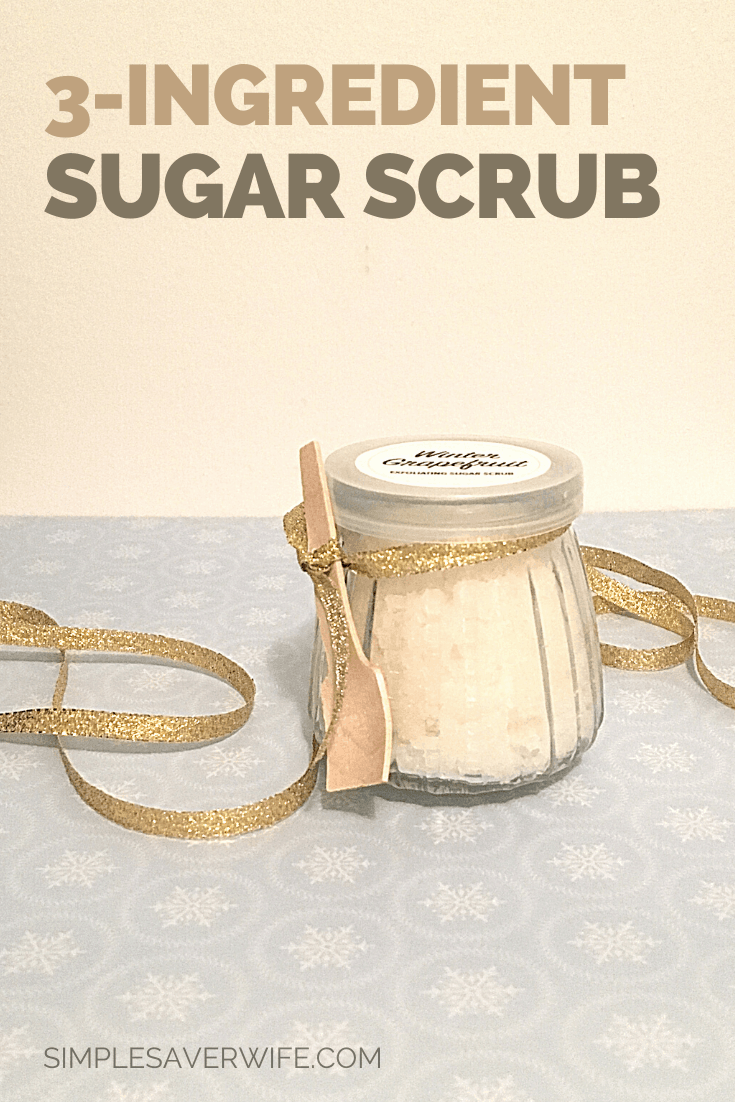 3-Ingredient Homemade Sugar Scrub